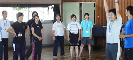 子供の姿勢改善に関する研修会 in 八王子市横山第一小学校