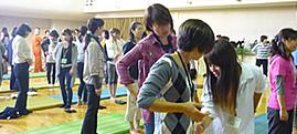 姿勢改善教室 in お茶の水小学校