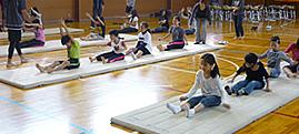 姿勢改善教室 in 千代田区和泉小学校2011
