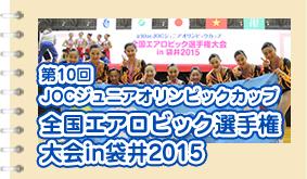 全国エアロビック選手権2015