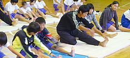 稲荷木小学校での姿勢教室 ≫詳しくはこちら