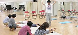 親子で姿勢改善教室 in 読売カルチャーセンター横浜