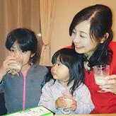 めぐみさん(5歳・3歳)